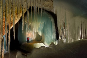 Ice Cave of the Alps - A GEO magazine assigned story about Ice Caves -