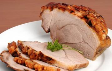 Schweinebraten / Roast pork