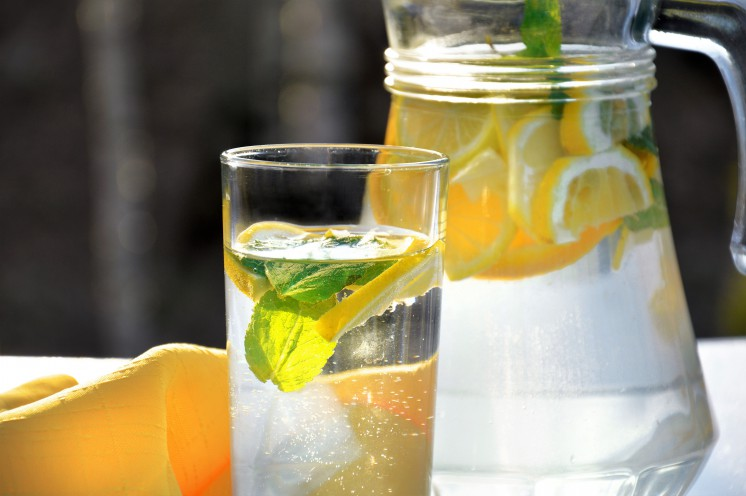 Detoxkur-Zitronenwasser