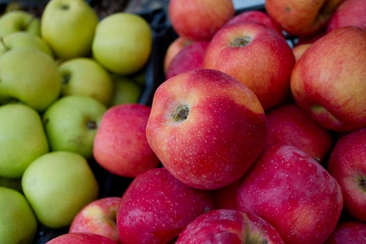 gesunde Äpfel
