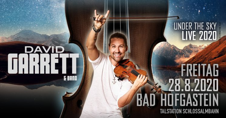 David Garrett Bad Hofgastein